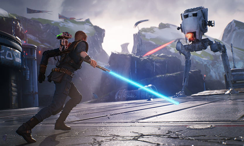 Star Wars Jedi Fallen Order fight