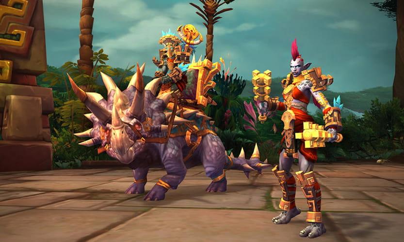 World Of Warcraft reward