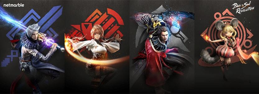 Blade & Soul Revolution charecter