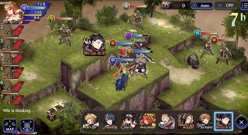 Final Fantasy Brave Exvius game