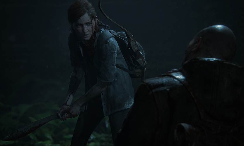The Last of Us Part 2 fight