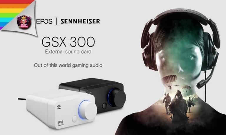 ตุ๊ดรีวิว EPOS Sennheiser GSX300 สุดยอดการ์ดเสียงคุณภาพระดับโลก
